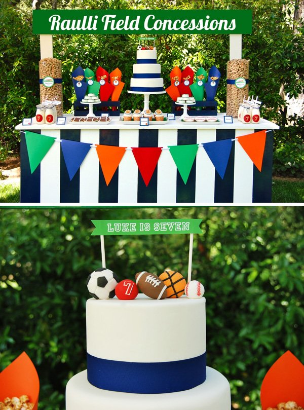 Concession Stand Dessert Table