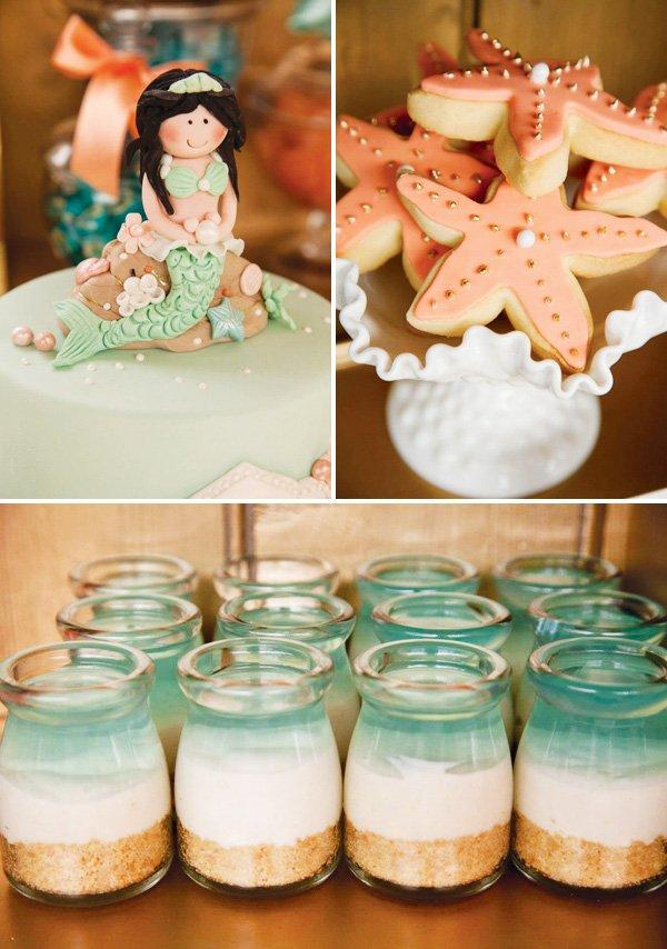 mermaid party dessert ideas