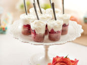 mini strawberry shortcakes