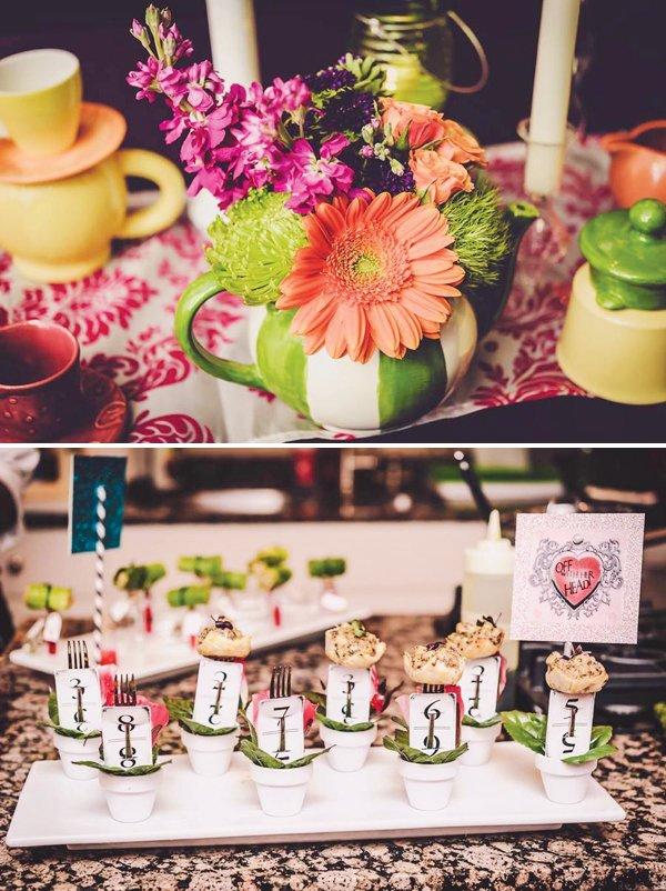 Teapot Floral Centerpiece
