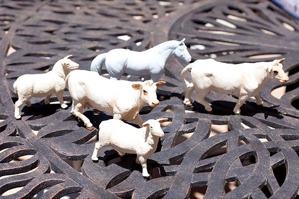 Toy Farm Animals