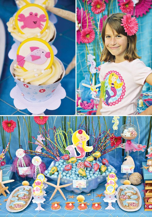 Under the Sea Mermaid Birthday Party