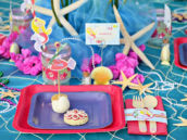 Under the Sea Kids Table Place Setting