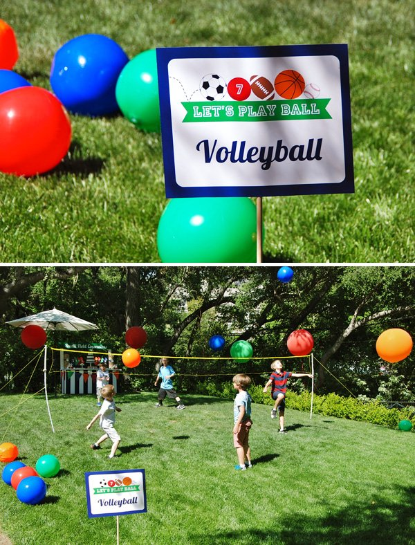 Volleyball Party Game