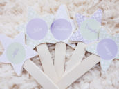 whimsical woodland star sticks