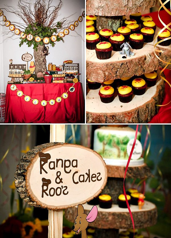 Hundred Acres Woods Inspired dessert table
