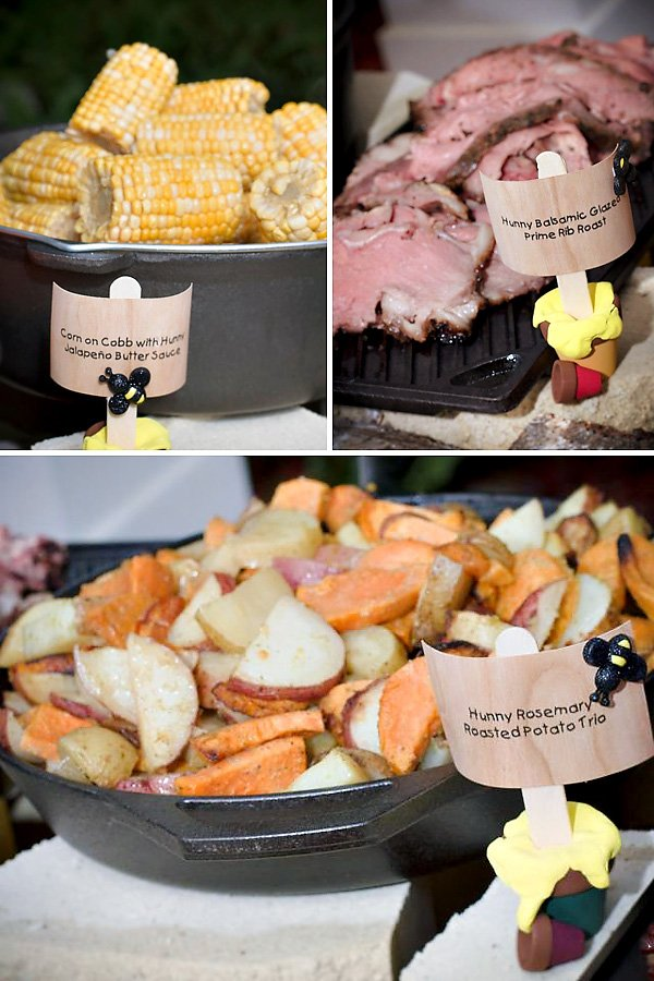 Winnie the Pooh Party Food