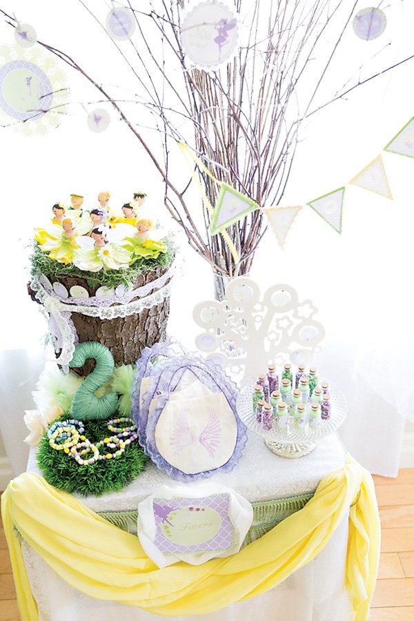 pretty woodland fairy party favors