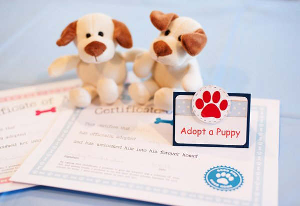 """Adopt a Puppy"" Puppy Pawty Activity"