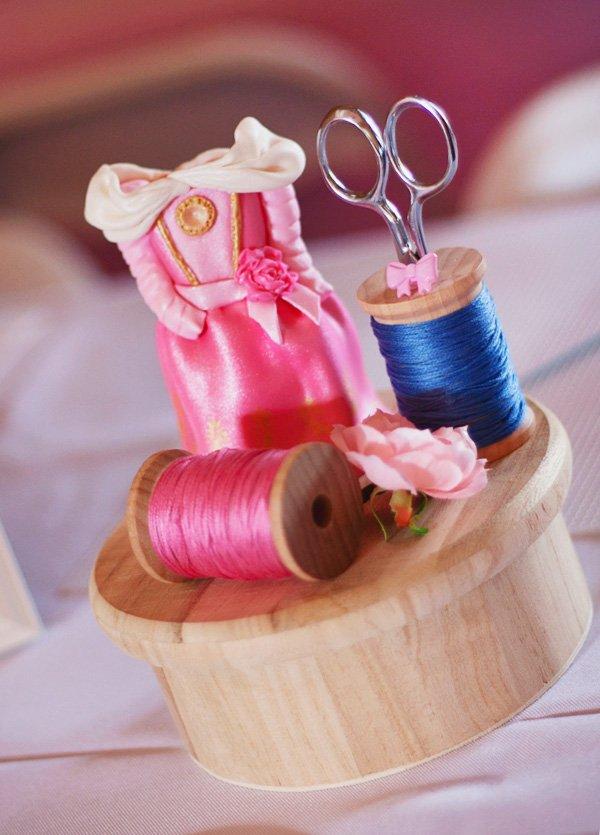 aurora pink dress