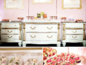 Baby shower lunch buffet