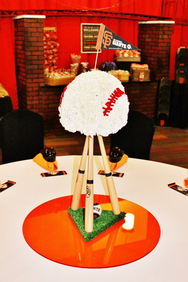 baseball candy table ideas | just b.CAUSE