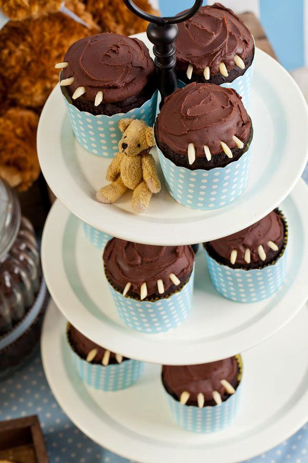 Bear Claw Cupcakes