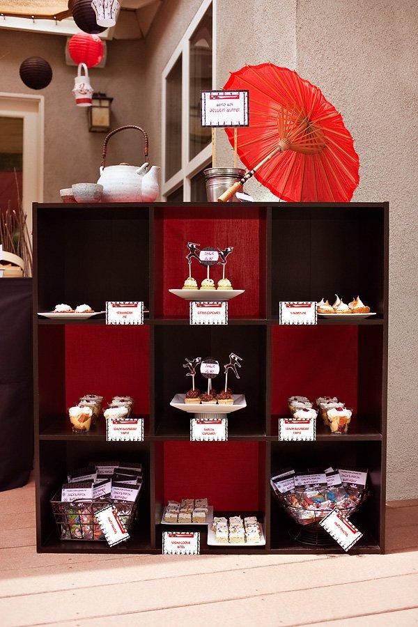 Bento Box inspired Dessert Buffet