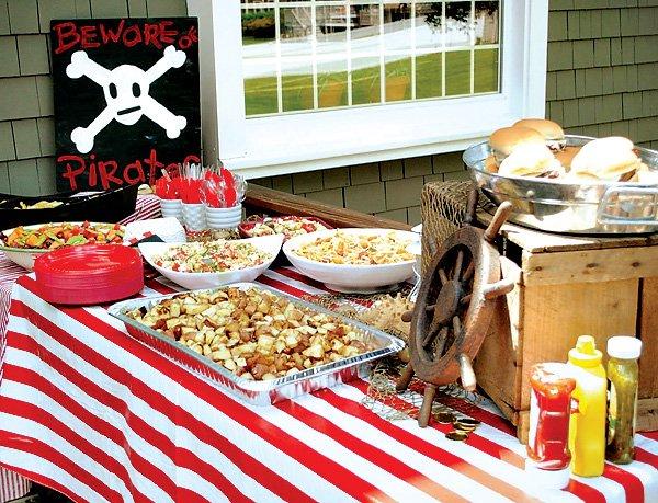 beware pirate lunch
