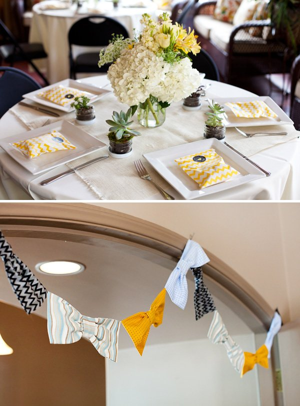 bow tie garland
