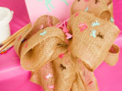 Burlap Horse Party Ideas
