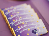 Chocolate Bar Party Favors