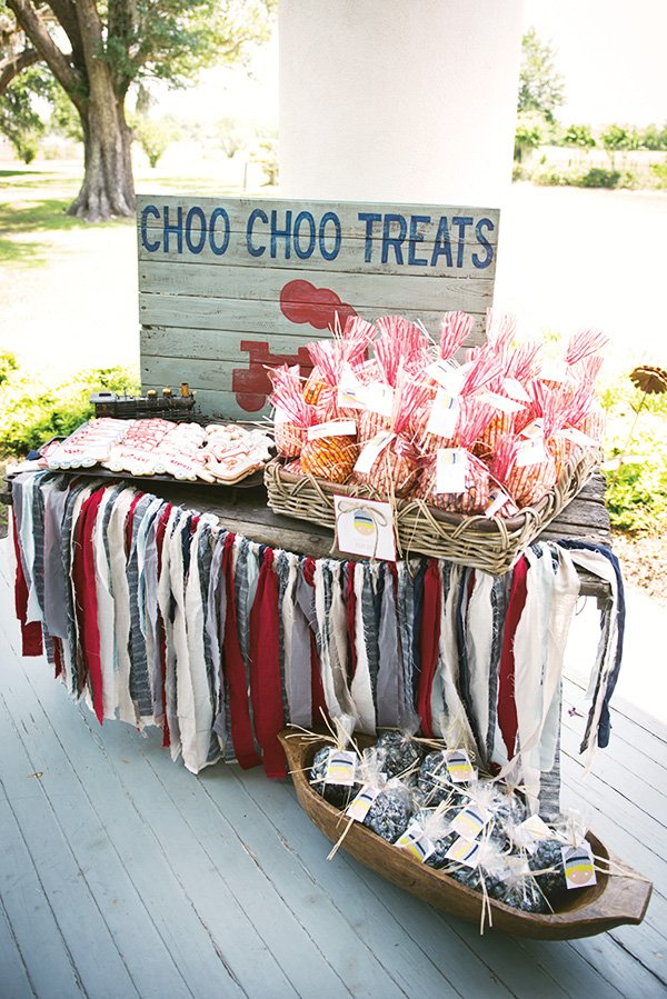 choo choo train treats