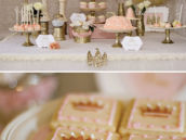 Sparkly Princess Dessert Table