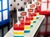 comic inspired superhero party