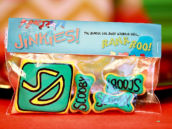 """Scooby Snack"" favor bags"