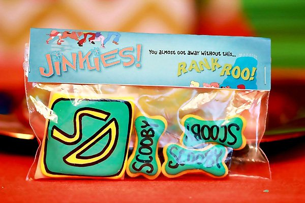 """""""Scooby Snack"""" favor bags"""