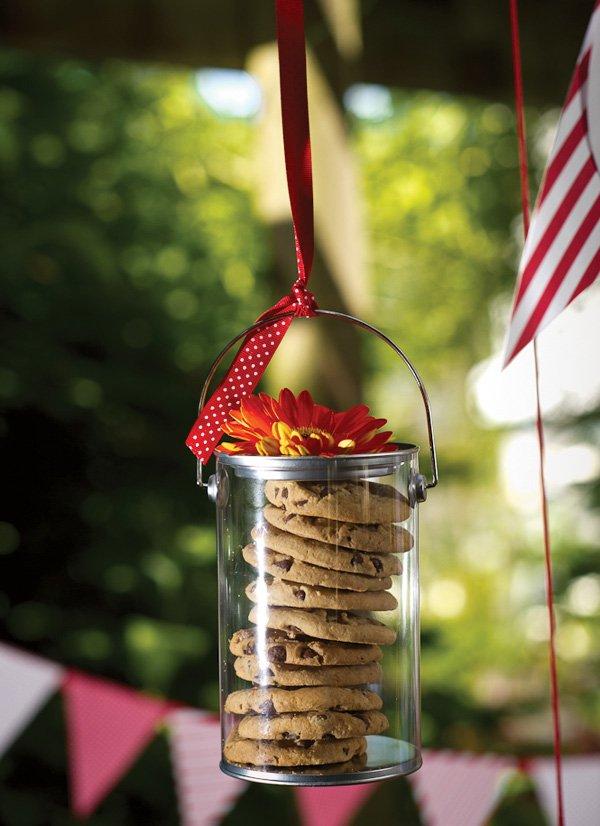 Hanging cookie jars