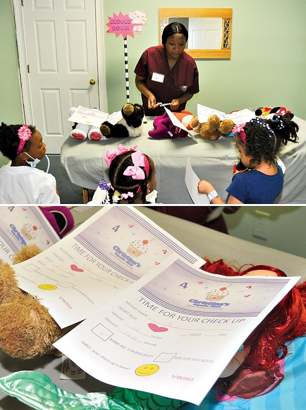 "Stuffed Animal ""Check up"" activity"