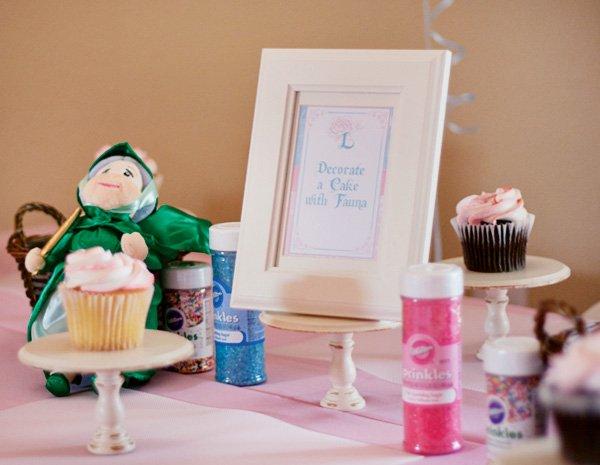 cupcake decorating activity