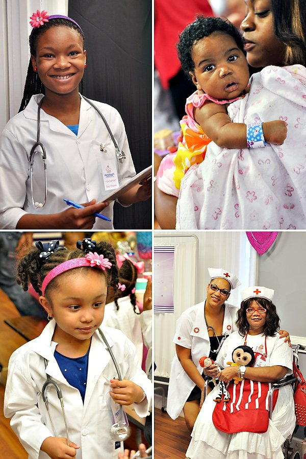 Doctor themed kids birthday party