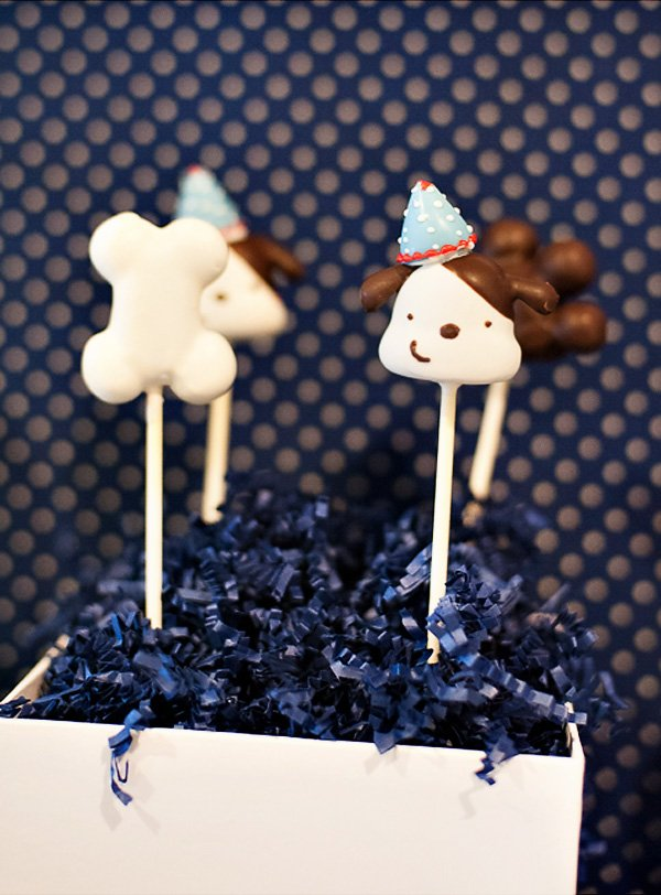 Dog & Bone Cake Pops