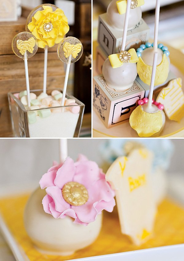 beautiful cake pops