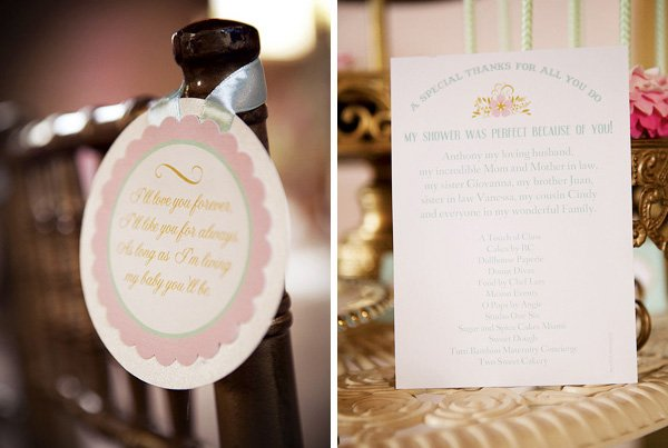 Pretty french baby shower printables