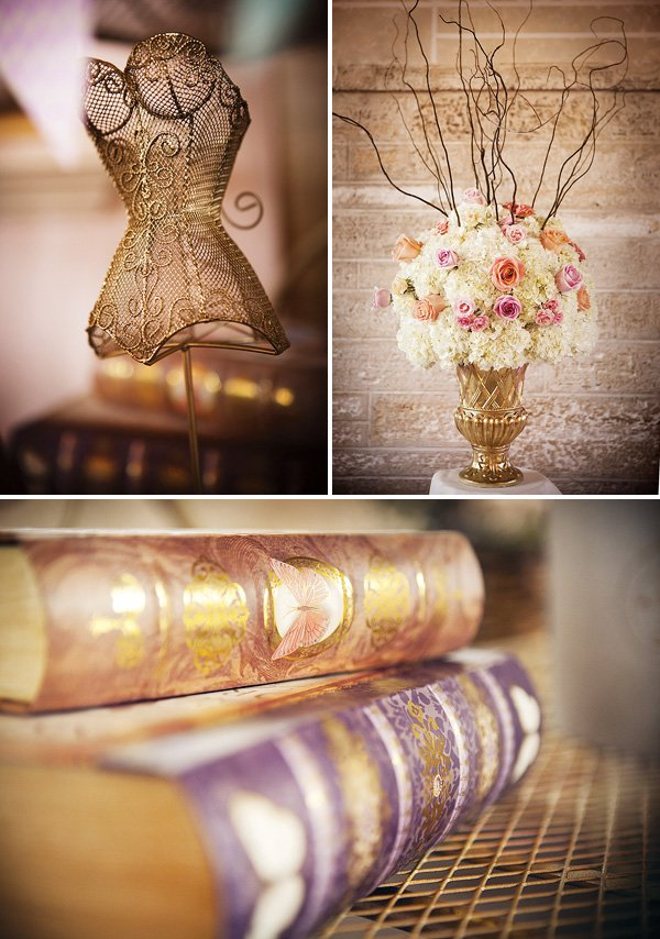 French inspired party decor