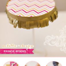 fringe risers diy tutorial on hwtm