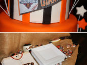 Giants Themed Birthday
