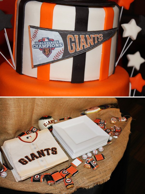 Giants Themed Birthday