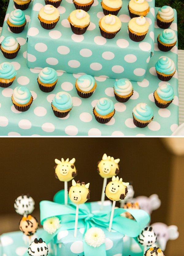 Wild animal cake pops