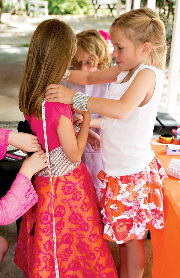 girls fashion birthday party