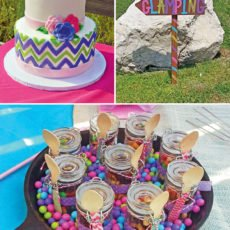 glamping party ideas