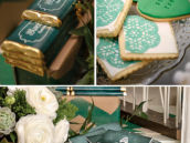 Emerald Green Dessert Table
