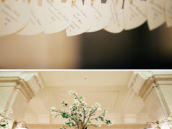 Heart shaped escort cards