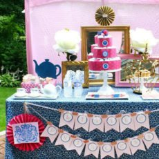 London baby shower