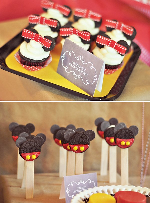 Mickey & Minni Dessert Ideas