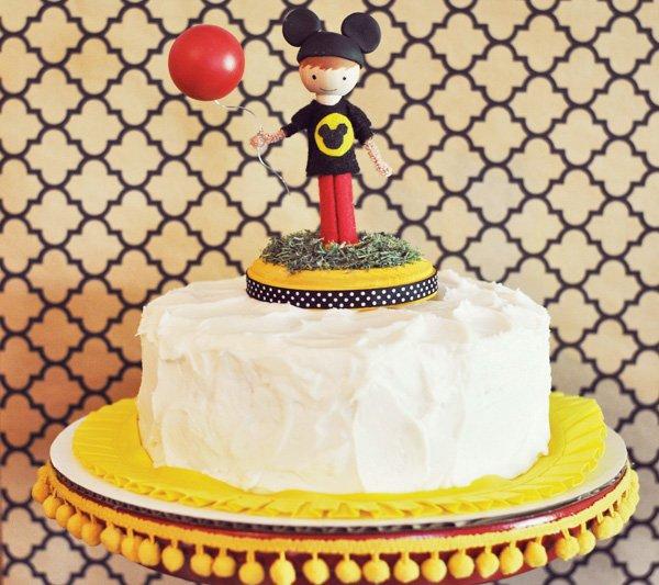 Mouseketeer Cake Topper
