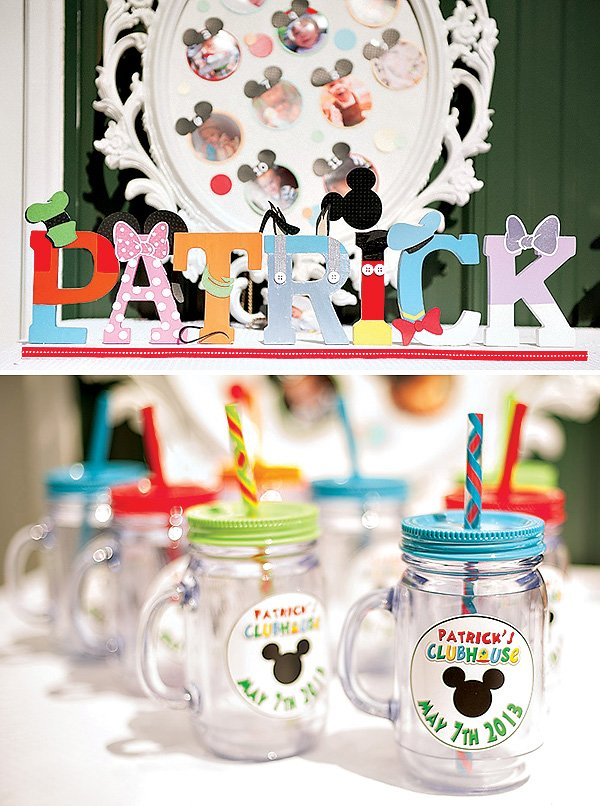 Astounding Colorful Mickey Mouse Clubhouse Birthday Party Hostess With The Funny Birthday Cards Online Hendilapandamsfinfo