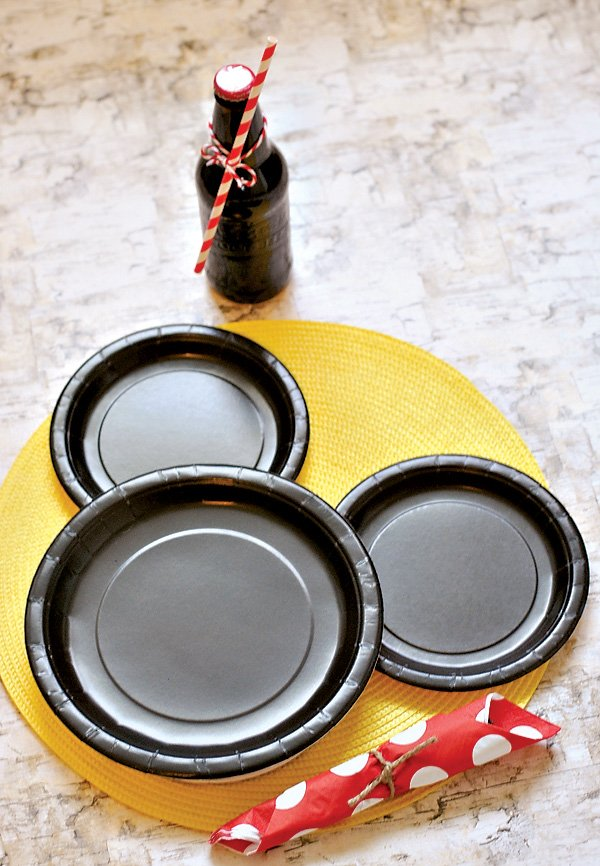 Mickey Mouse Place Setting