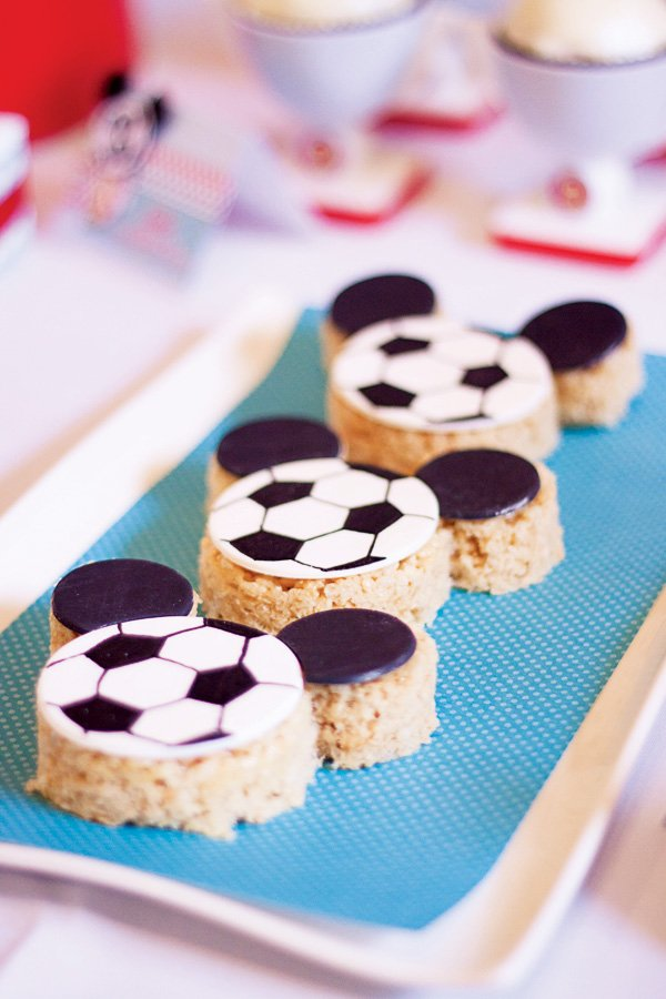Mickey soccer party