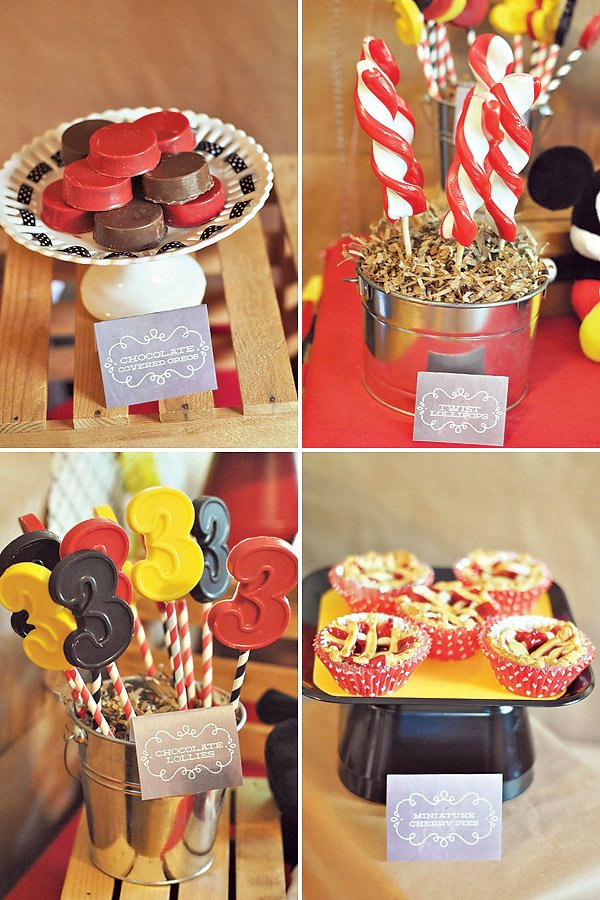 Red & Yellow Dessert Ideas